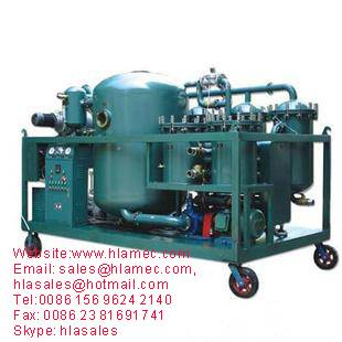 Waste Industrial Lube Oil Purifier