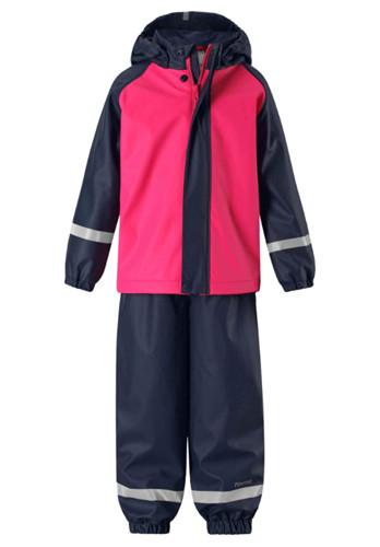Toddler's PU rain jacket PU Rain Jacket Manufacturer toddler rain suit one piece