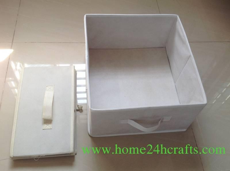 Non woven Fabric Storage Basket