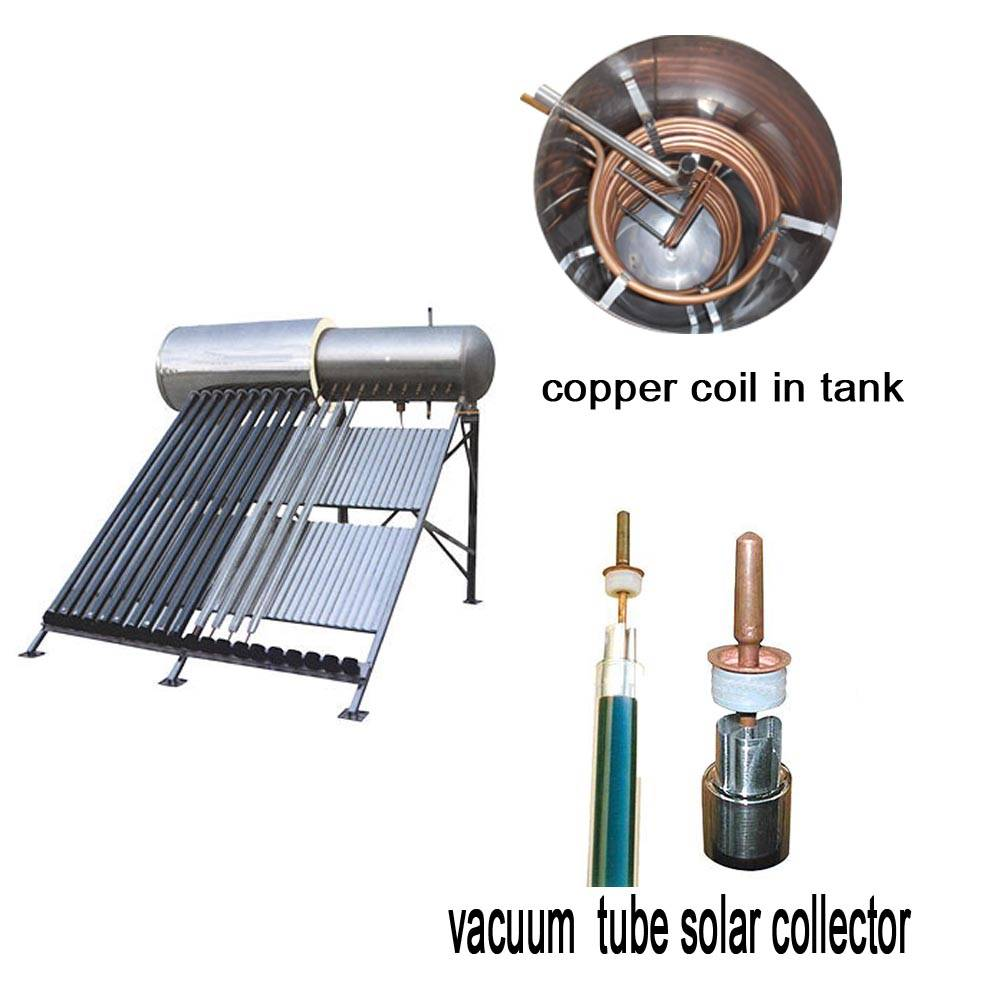 solar water heater tube collector