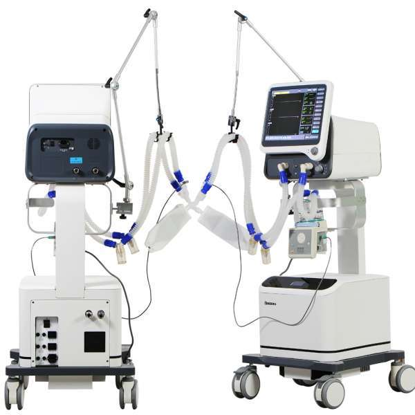 Hospital Medical ICU Ventilator CE Certified