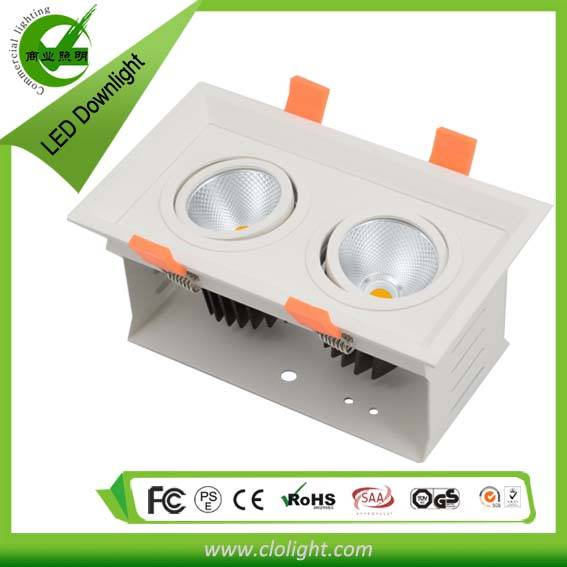 3 years warranty 18W COB downlight CE RoHS certification