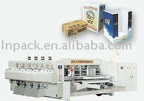 AUTOMATIC FLEXO PRINTING SLOTTING/DIE-CUTTING MACHINE, competitive price ,high quality