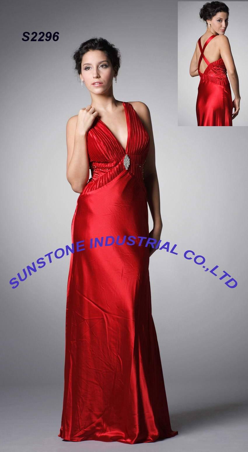 evening dress - S2296