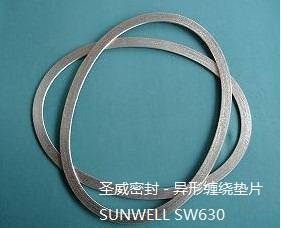 Non-rounded Spiral wound Gaskets