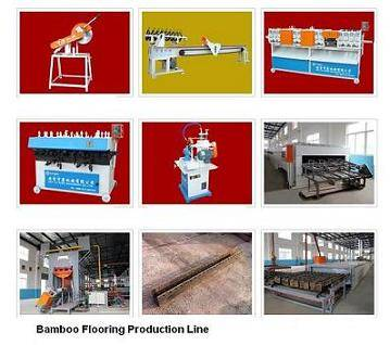 Bamboo plyboard plywood floor flooring making laminating machine manufacturing line plant