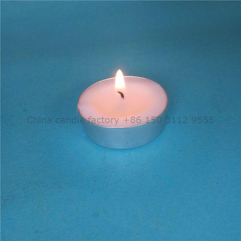 Long burning smokeless tealight candle