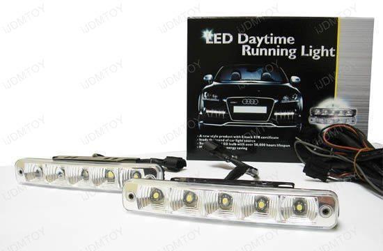 Euro LED Daytime Running DRL Lights BMW E71 X6 X6M #79