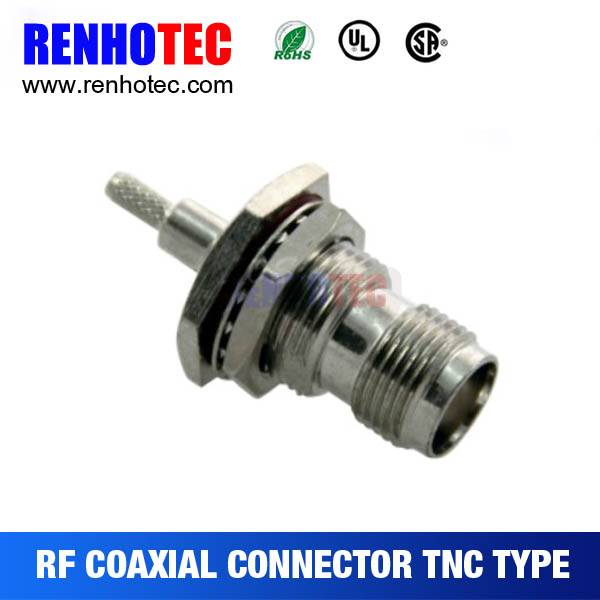 2015 new factory price Jack TNC Connector 180 degree