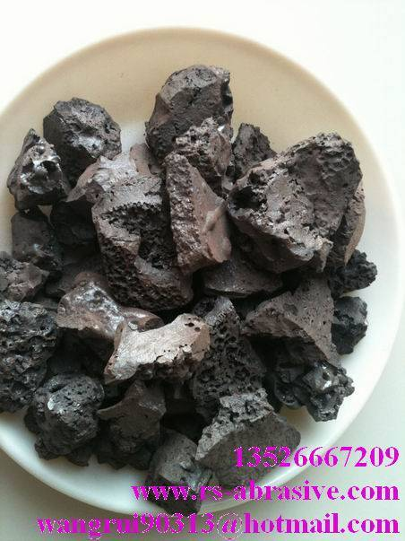 calcium feerite slag/selling calcium feerite slag/melting steel additives/RuiShi brand dephosphoriza