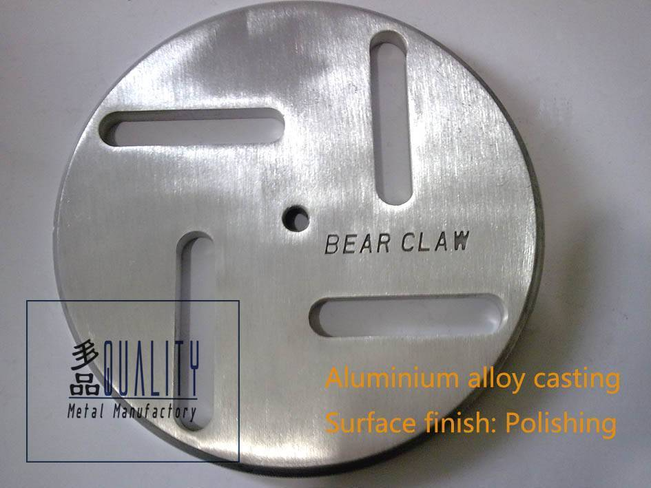 Aluminium alloy casting Machinery parts