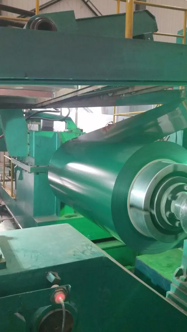 Prepainted steel sheet color coated galvalume coil