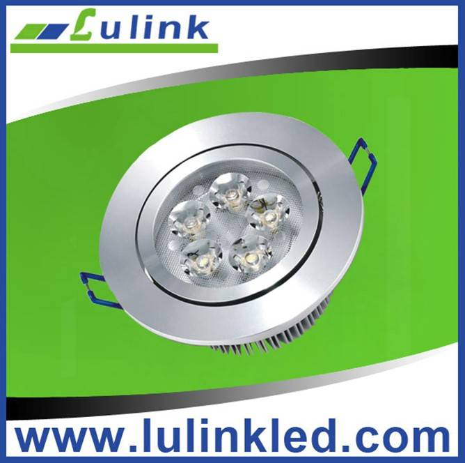 High lumen 90Lm/W 5W Led downlight with CE/RoHS