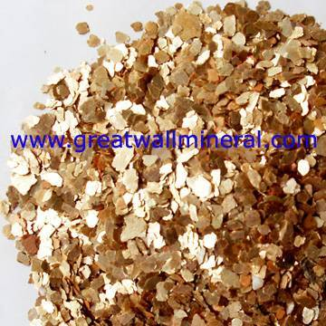 calcined mica flakes