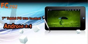 sell FC702 7 inch Google Android2.1 WiFi Tablet PC MID