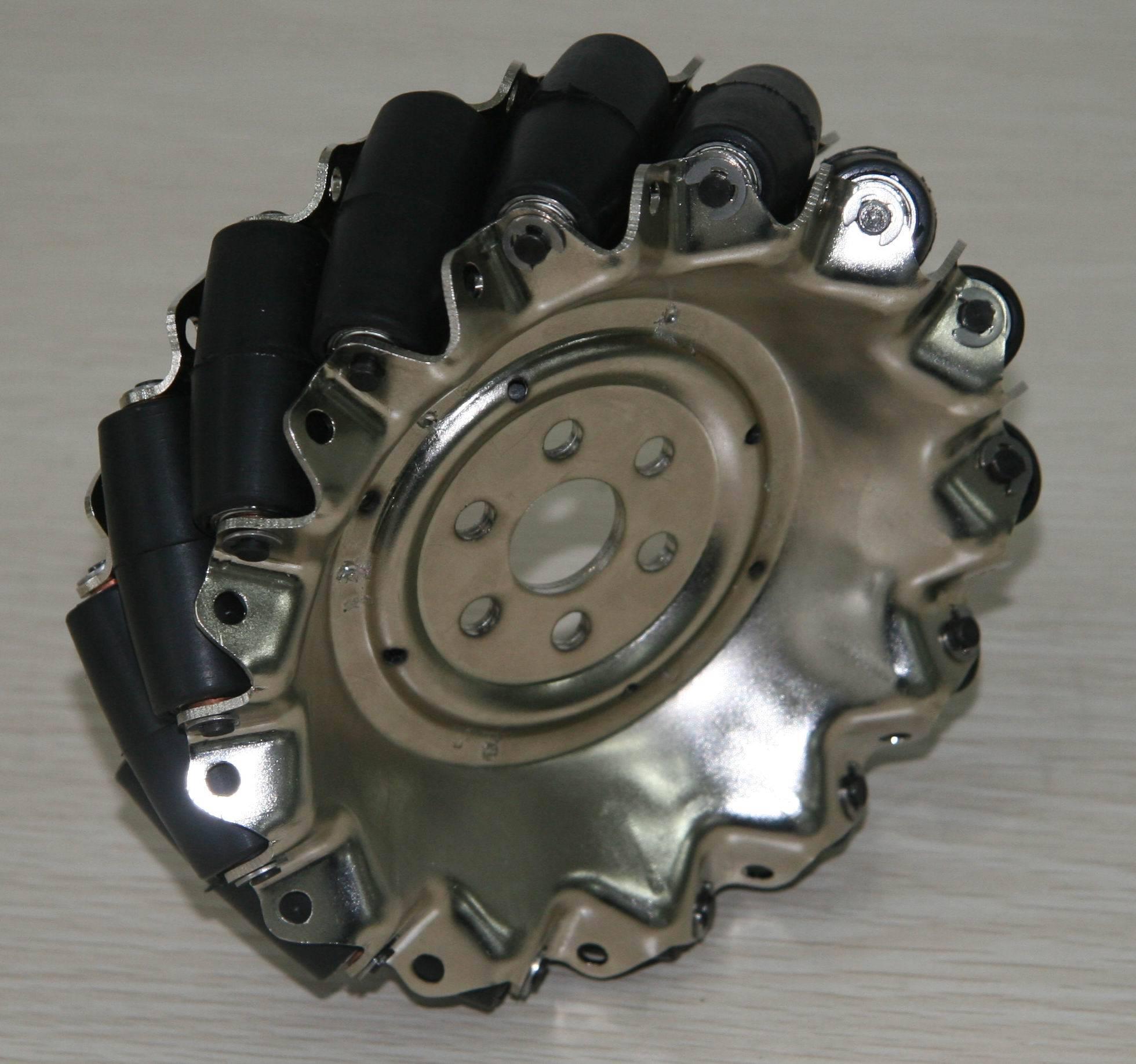 152.4mm steel mecanum wheel QMA-15