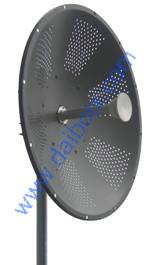 5GHz 32dBi Dual Polarization Dish Antenna