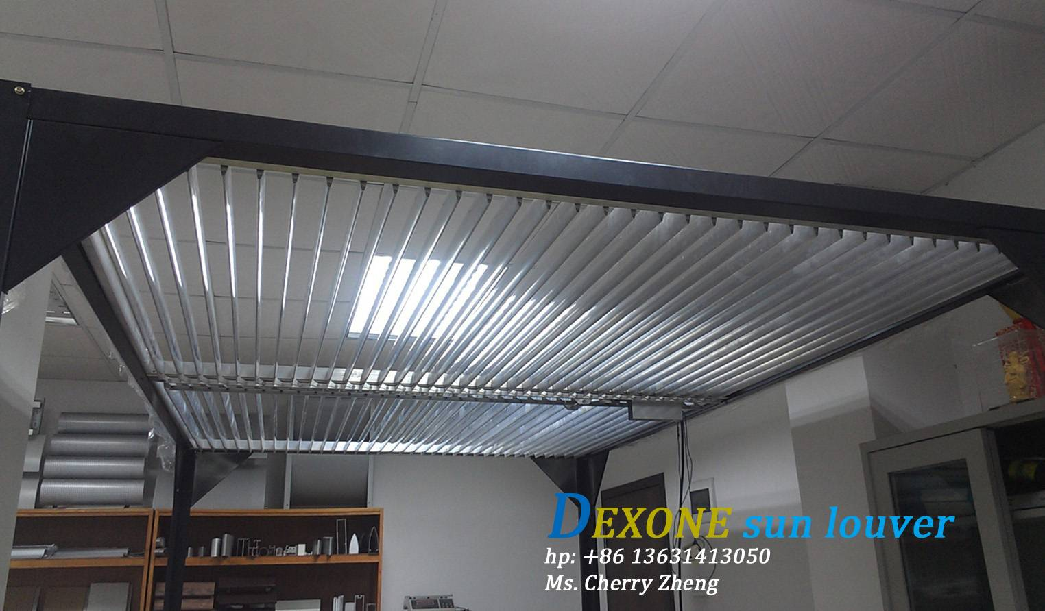 solar shading motorized/automatic for outdoor