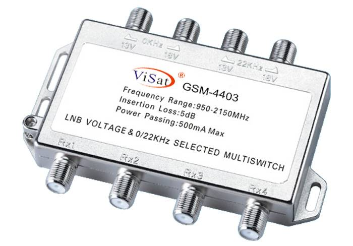 4 in 4 Satellite multiswitch
