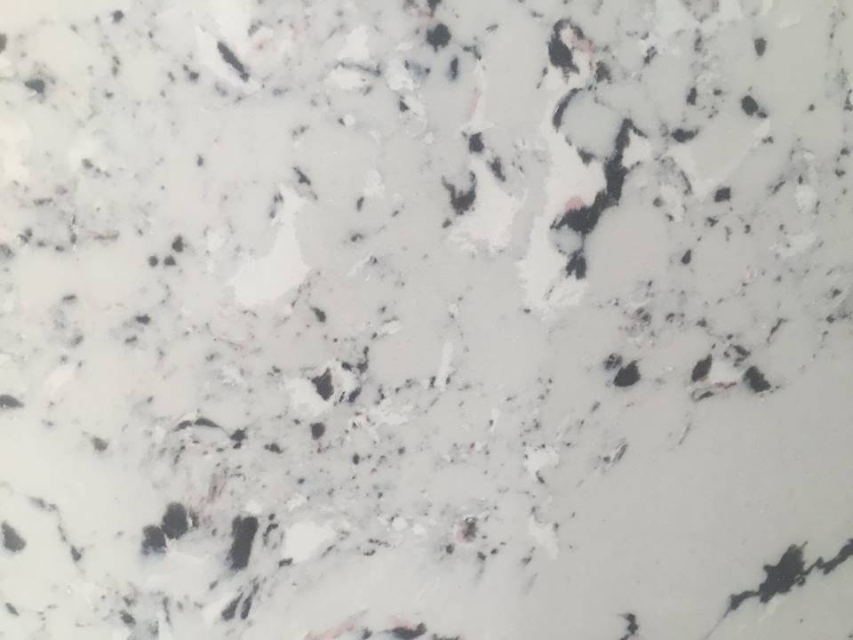 Marble Like Artificial Quartz Slab for Kitchen Bathroom and Comercial Sector