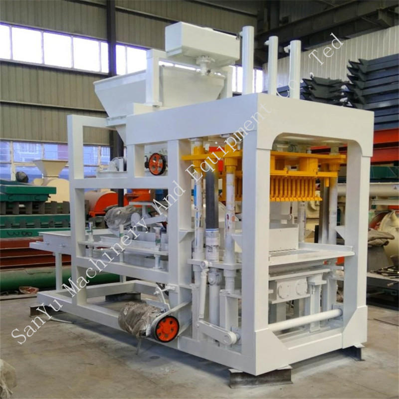 Hollow Hydraulic Automatic Brick Forming Concrete Block Making Machine
