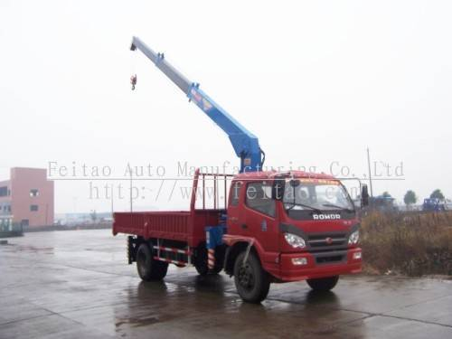 truck with crane&truck-mounted crane