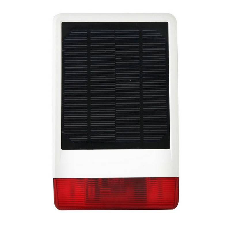 newest wireless solar siren IR-W06 smart alarm outdoor siren home alarm system