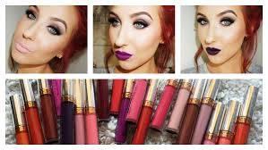 LASplash Lip Couture Matte Liquid Lipstick - Ghoulish