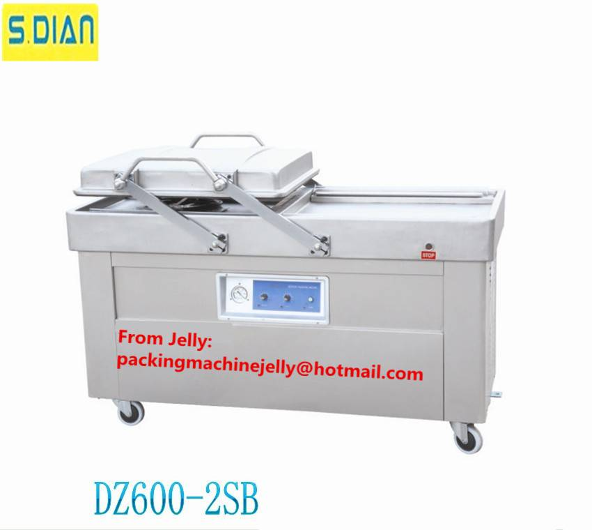 DZ600 Double chamber vacuum packing machine