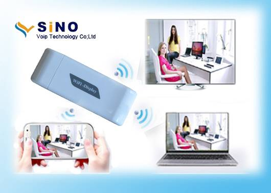 Wireless wifi display dongle support Mirroring DLNA Ezcast for Android 4.2 and Ios device
