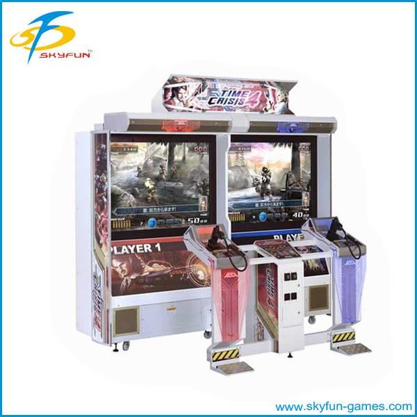 Time crisis Shooting Game Machine gun simulator video games,simulator shooting gun mach