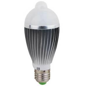 7W LED Sensor Light with E27 Base