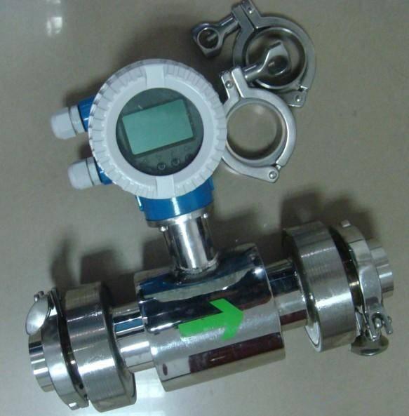 2014 hotsale sanitary electromagnetic flow meter