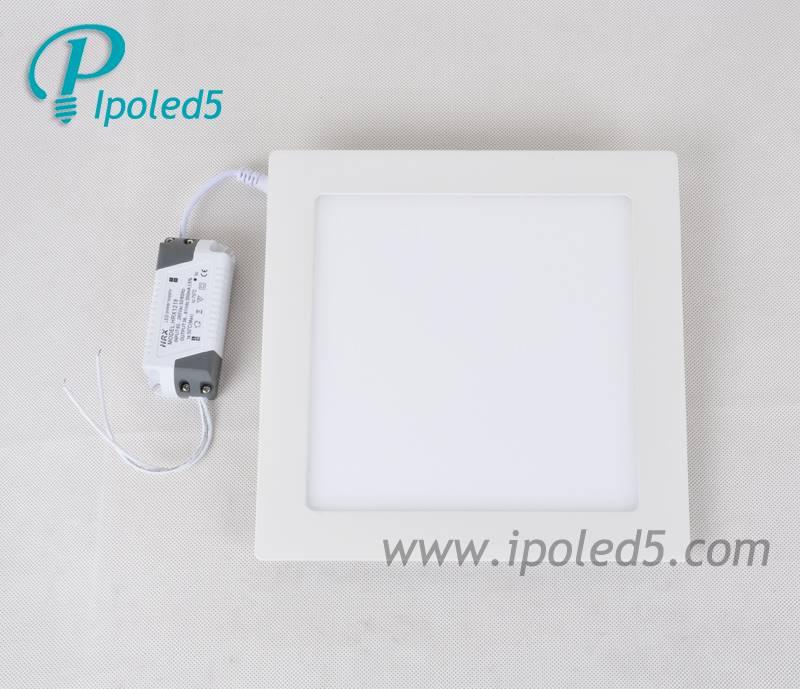 Mini square LED light panel saving power
