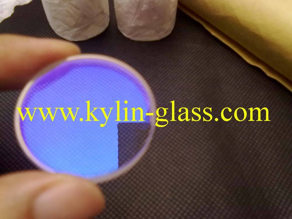 glass disc with coating