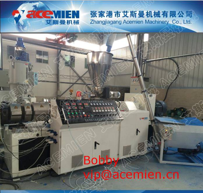 Plastic Roof Tiles Production Line Extruder with Round / Trapezoidal Shape