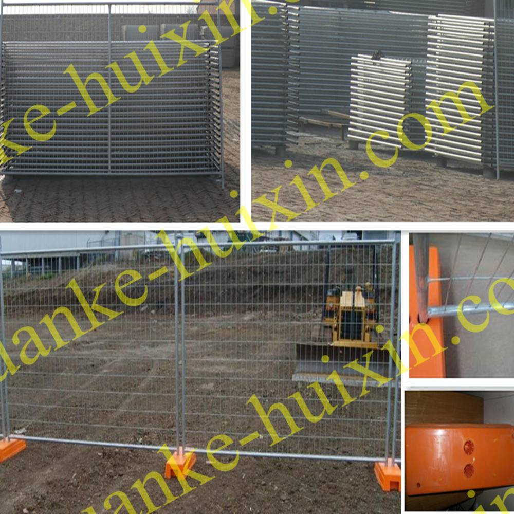 Temporary Rental System safety moveable fence