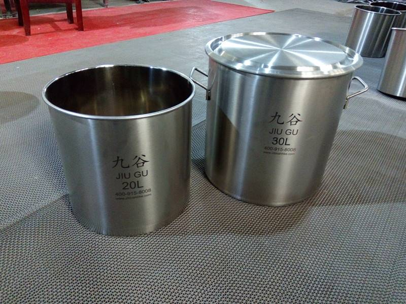 304 stainless steel kitchen bucket