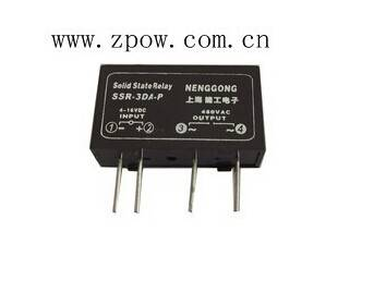 Neng Gong PCB Small AC Solid state relay Single Inline SSR-3DA-P 3A SSR