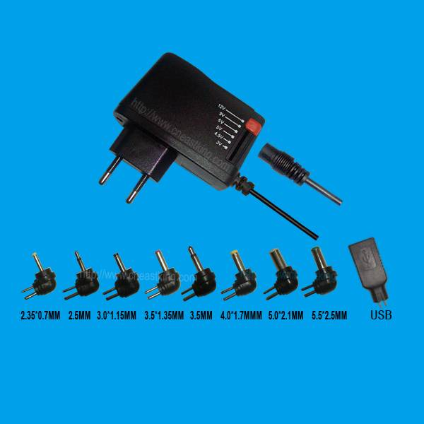 High quality Universal wall type charger for up to 7 electronics