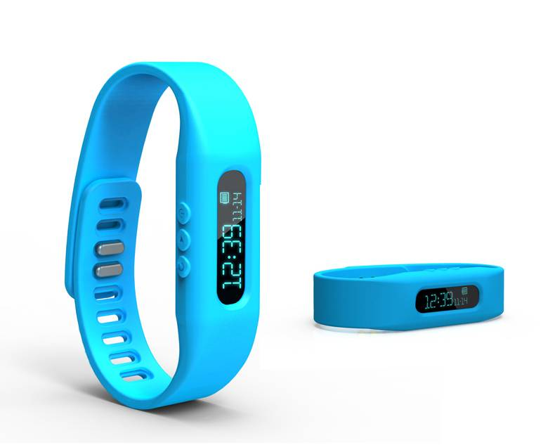 Mini Bluetooth Smart Watch with Screen for Mobile Phone (Android only) Colorful Wristband
