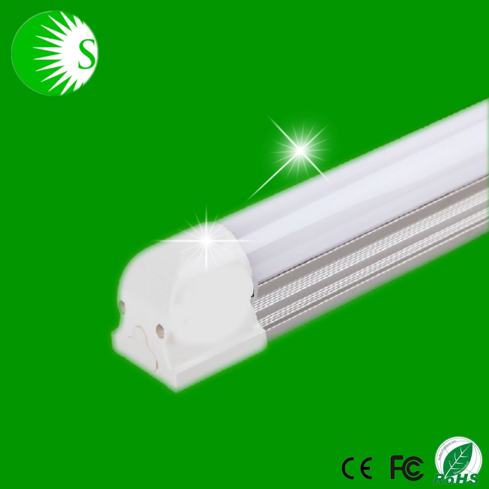 4w 6w 9w 12w 18w 0.6m 0.9m 1.2m Epistar 2835 led chip light wide voltage 85-265v zhongshan led tube
