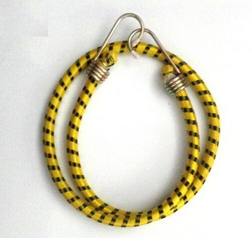 Hot Selling Round Shape rubber Bungee Cord with Metal Hook