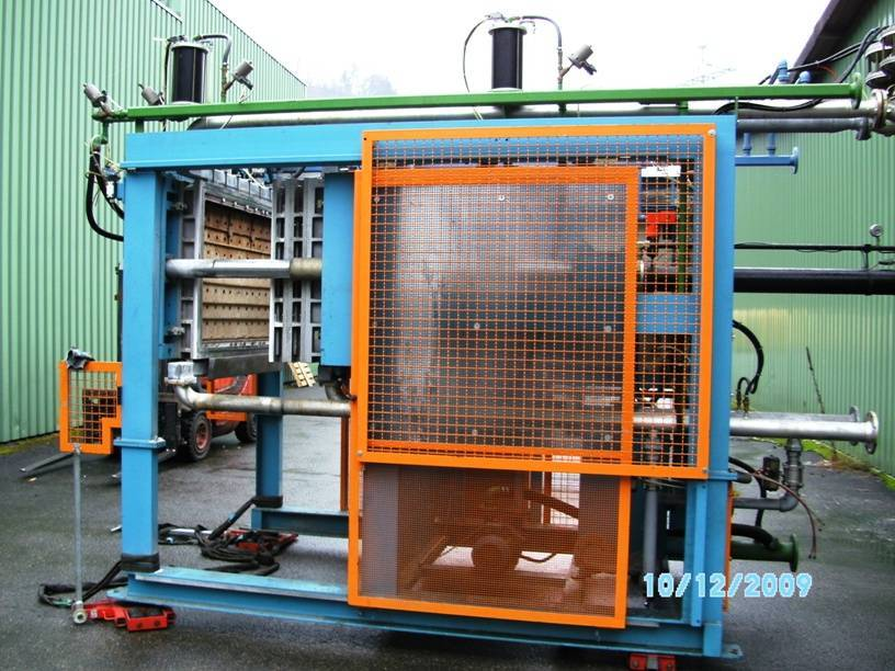 Used EPS machinery made in Germany