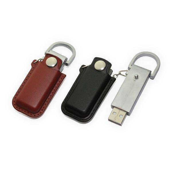 Costomized Leather USB Flash Drive