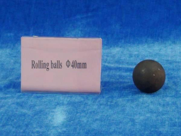 Rolling steel ball 40mm