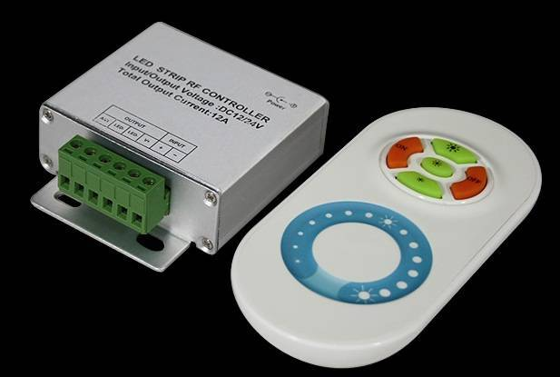 RF Wireless LED Controller Dimmable