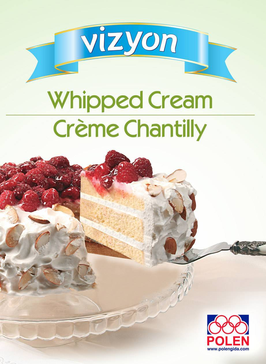 Whipped Cream In Powder Form Polen Gida