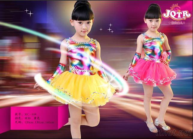 Kids dance costume, Girls dance costume, Children dance costume