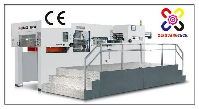 Manufacturer of the automatic flatbed die cutting machine